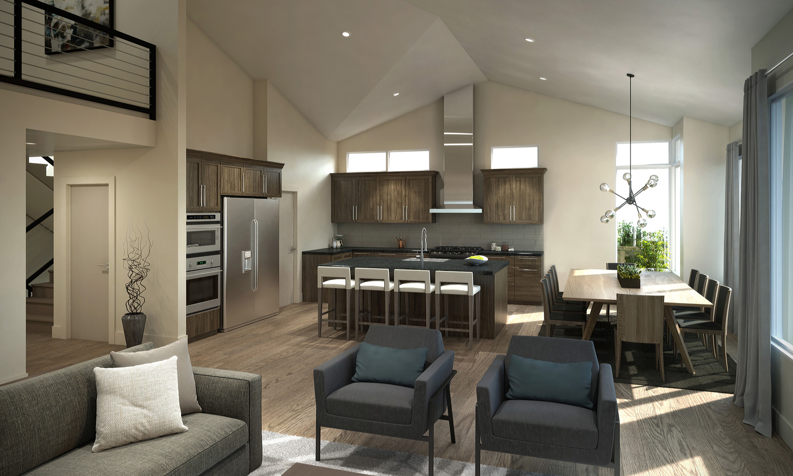 Discovery Ridge - Interior Rendering