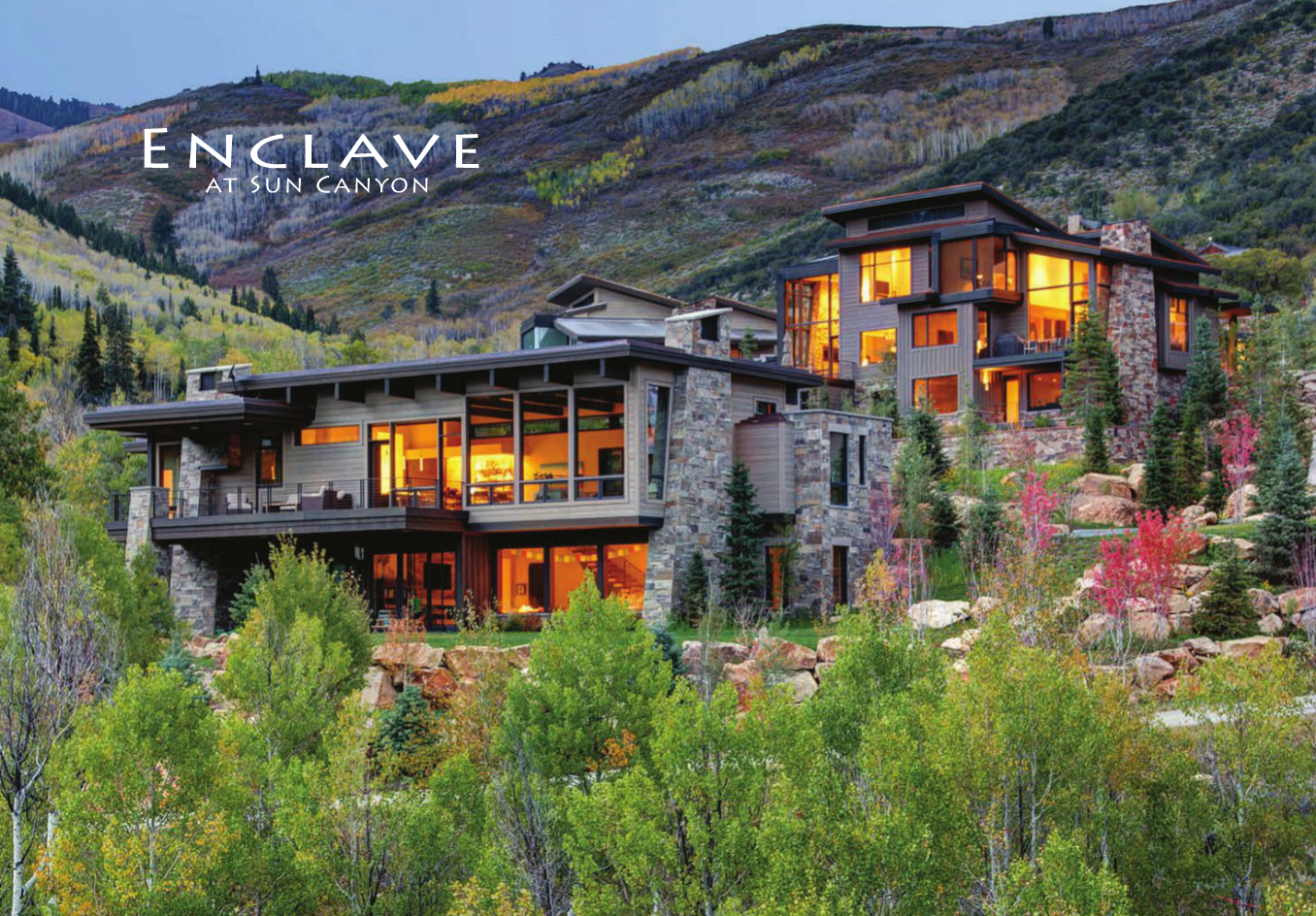 Enclave at Sun Canyon Homes for Sale Park City Utah