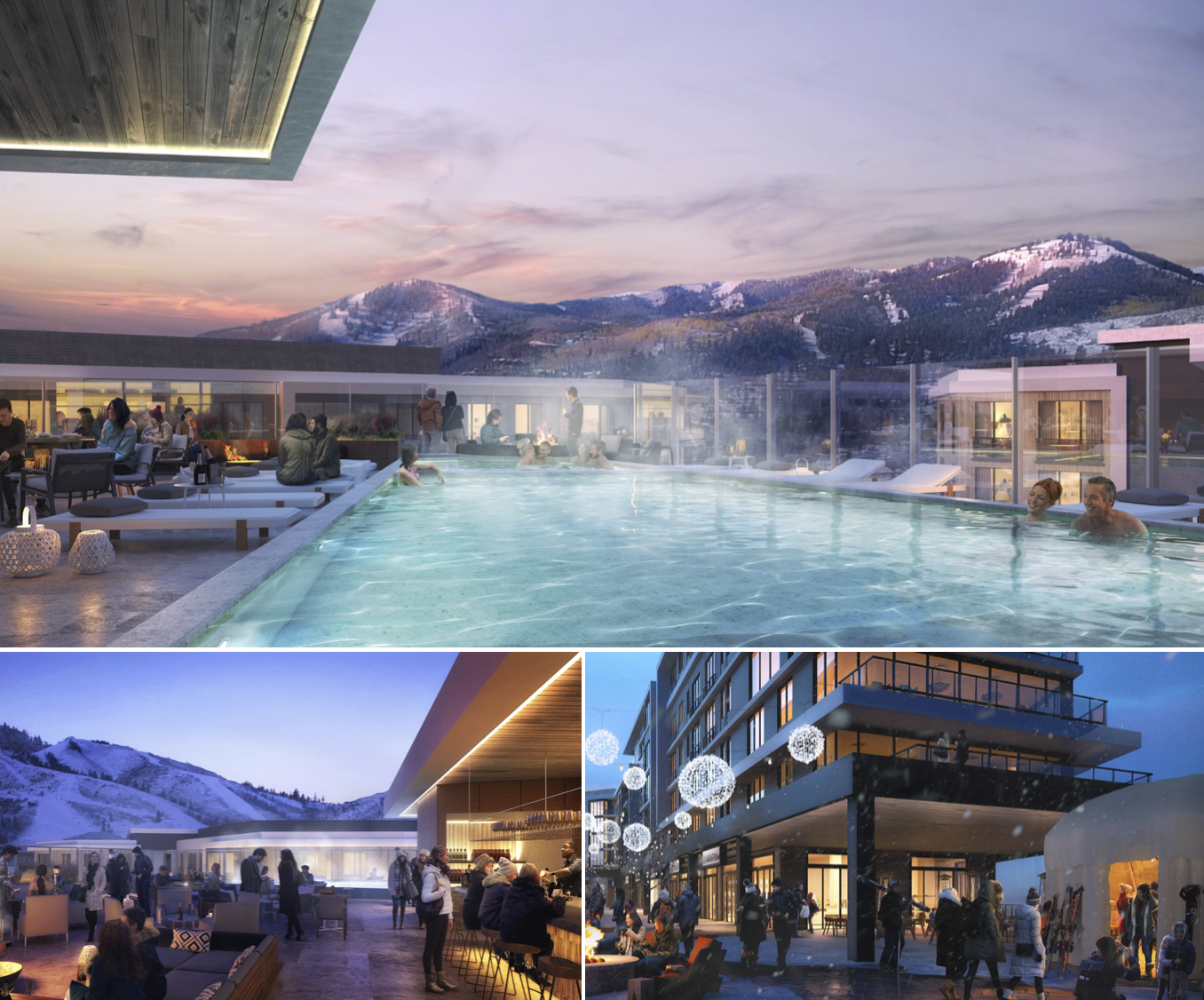 Pendry Park City Roof Top Pool