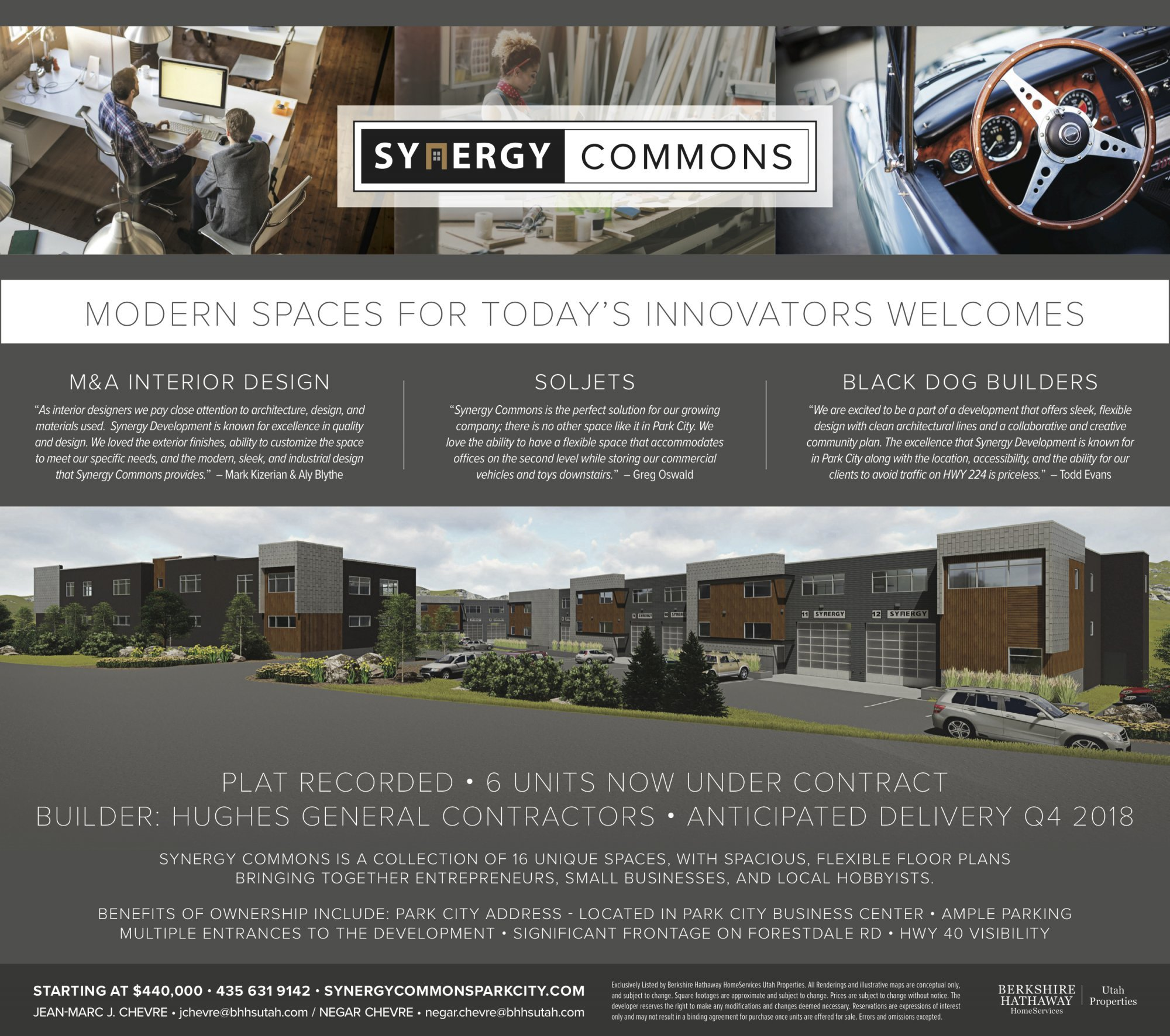 Synergy Commons Park City 6 Units Under Contract